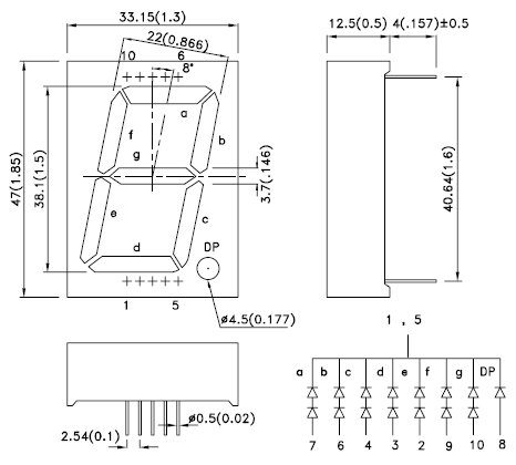 SC15-11SRWA, 7-сегментный